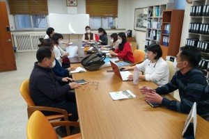 소속시설 지도점검(희망마을) 및 프로그램 컨설팅